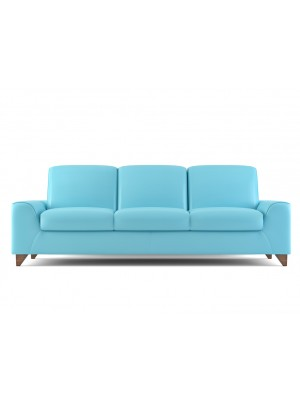 Blue Cream Sofa